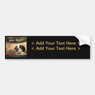 Cae Saint Bernard Car Bumper Sticker