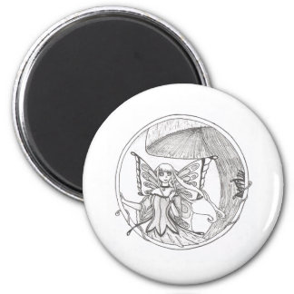 Caelia circle refrigerator magnets