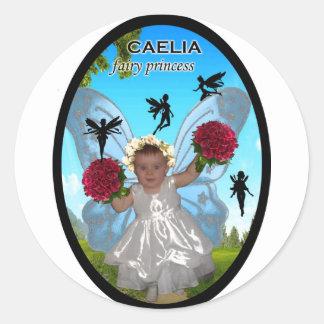 caelia Fairy Princess Sticker