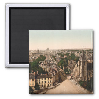 Caen, Basse-Normandie, France Square Magnet