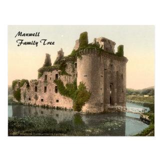 Caerlaverock Castle Dumfries Scotland Post Card