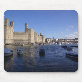 Caernarfon Castle, Gwynedd, Wales 2 Mouse Pad
