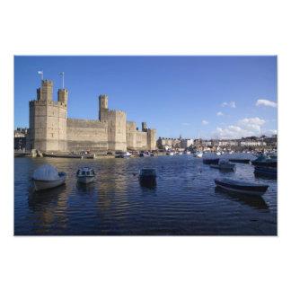 Caernarfon Castle, Gwynedd, Wales 2 Photographic Print