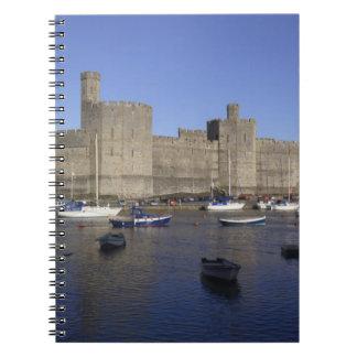 Caernarfon Castle, Gwynedd, Wales (RF) Notebooks
