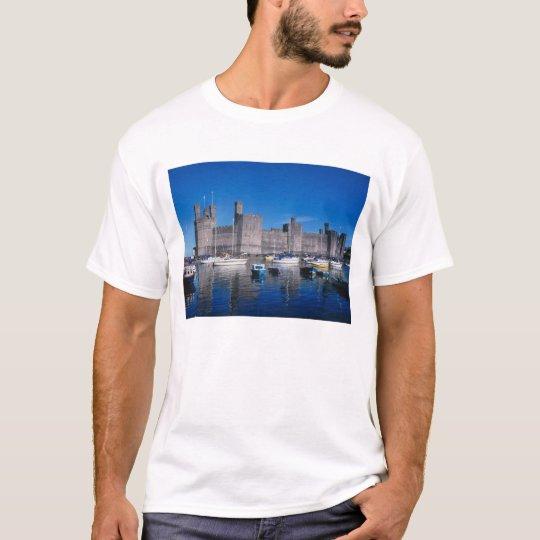 Caernarfon Castle, Gwynedd, Wales T-Shirt