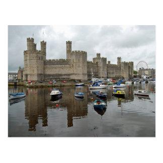 Caernarfon Castle Postcard