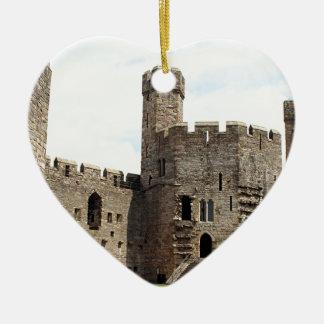 Caernarfon Castle, Wales, United Kingdom Christmas Ornament