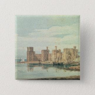 Caernarvon Castle 15 Cm Square Badge