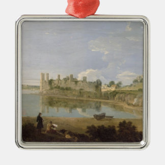 Caernarvon Castle, c.1745-50 (oil on canvas) Christmas Ornament