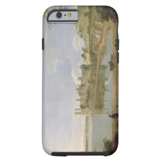 Caernarvon Castle, c.1745-50 (oil on canvas) Tough iPhone 6 Case