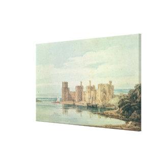 Caernarvon Castle Canvas Print