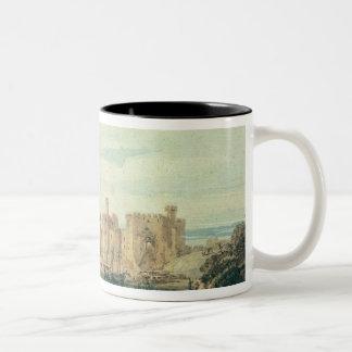Caernarvon Castle Two-Tone Coffee Mug