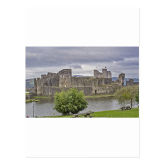 Caerphilly Castle Postcards