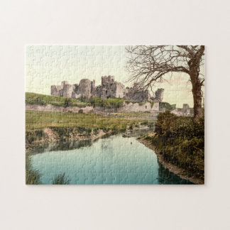 Caerphilly Castle, Wales Jigsaw Puzzle