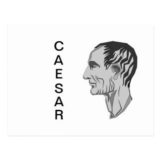 CAESAR POSTCARD
