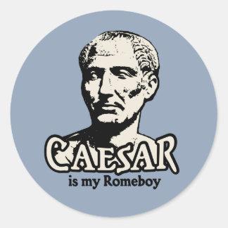 Caesar Romeboy Round Sticker