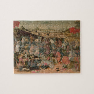 Caesar Triumphing in Battle (tempera on panel) Jigsaw Puzzle