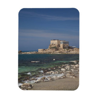 Caesarea ruins of port built by Herod the Great 2 Rectangular Photo Magnet