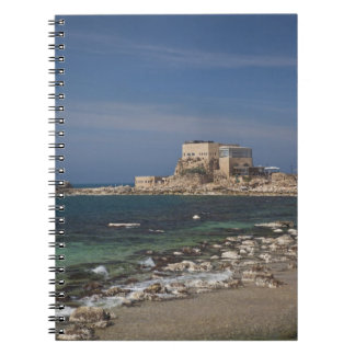 Caesarea ruins of port built by Herod the Great 2 Spiral Notebook
