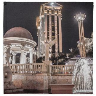 Caesar's Palace Las Vegas Nevada Hotel City Napkin