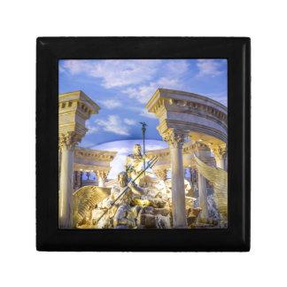 Caesars Palace Las Vegas Statue Hotel Casino Small Square Gift Box