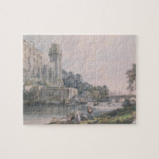 Caesar's Tower and Part of Warwick Castle Jigsaw Puzzle