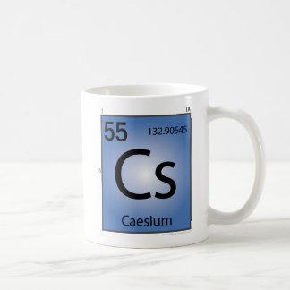 Caesium (Cs) Element Mug