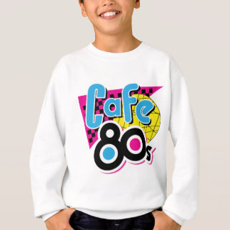 Cafe 80s sweatshirt