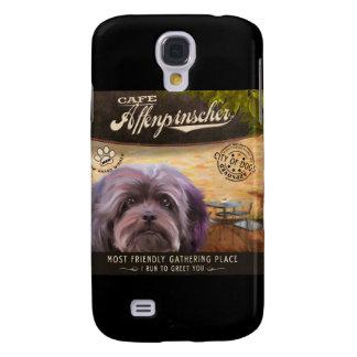Cafe Affenpinscher Samsung Galaxy S4 Case