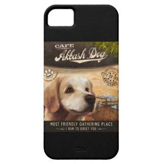 Cafe Akbash Dog iPhone 5 Case