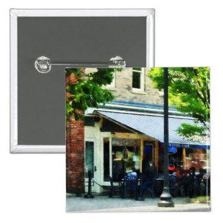 Cafe Albany NY Pin