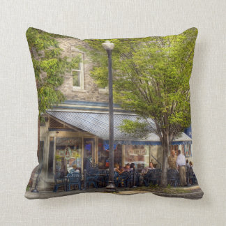Cafe - Albany, NY - Victory Cafe Cushion