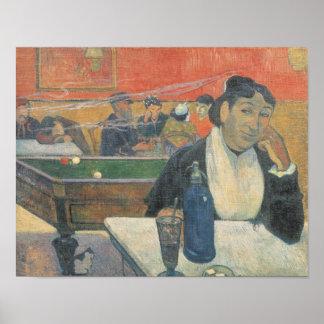 Cafe at Arles, 1888 Poster