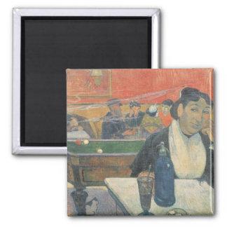 Cafe at Arles, 1888 Square Magnet