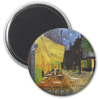 Cafe at Night by Vincent Van Gogh Magnet