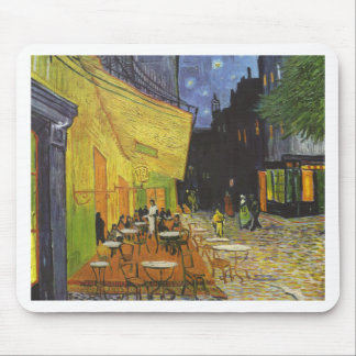 Cafe at Night by Vincent Van Gogh Mouse Mat