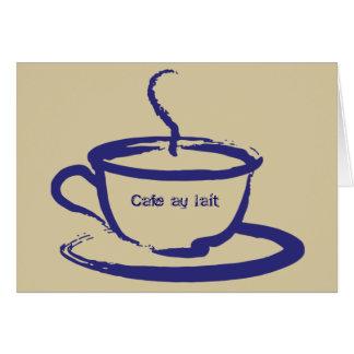 Cafe Au Lait Note Cards