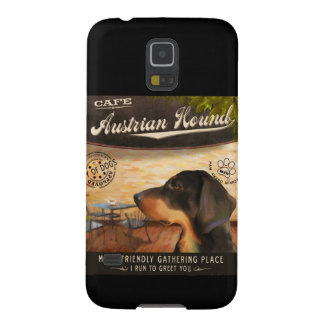 Cafe Austrian Hound Cases For Galaxy S5