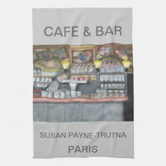 CAFE & BAR  PARIS TOWEL
