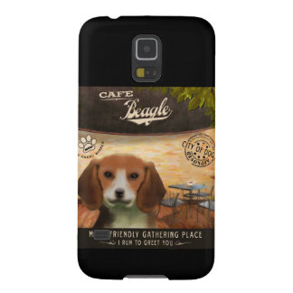 Cafe Beagle Galaxy S5 Cases