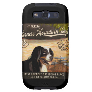 Cafe Bernese Mountain Dog Galaxy SIII Covers