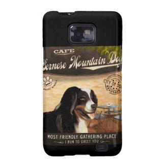 Cafe Bernese Mountain Dog Galaxy S2 Cases
