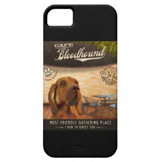 Café Bloodhound iPhone 5 Covers