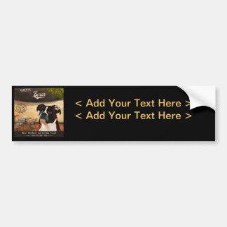 Cafe Boxer Bumper Sticker