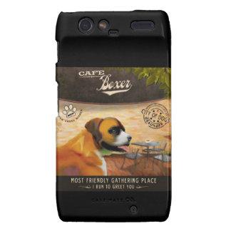 Cafe Boxer Droid RAZR Cases
