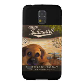 Cafe Bullmastiff Galaxy S5 Case