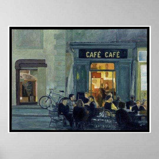 Cafe Cafe Poster