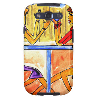 Cafe Chat Samsung Galaxy SIII Covers