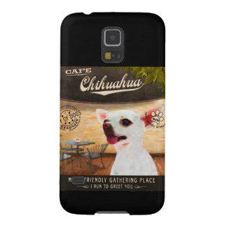 Cafe Chihuahua Galaxy S5 Cases