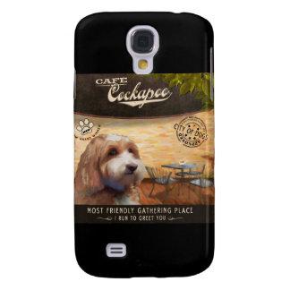 Cafe Cockapoo Galaxy S4 Case